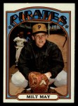 1972 Topps #247  Milt May  Front Thumbnail