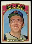 1972 Topps #730  Rick Monday  Front Thumbnail