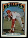 1972 Topps #167  Deron Johnson  Front Thumbnail