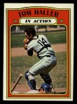 1972 Topps #176   -  Tom Haller In Action Front Thumbnail