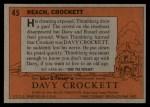 1956 Topps Davy Crockett #45 ORG  Reach Back Thumbnail