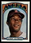 1972 Topps #253  Sandy Alomar  Front Thumbnail