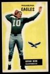 1955 Bowman #145  Adrian Burk  Front Thumbnail