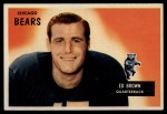 1955 Bowman #53  Ed Brown  Front Thumbnail