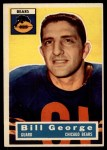 1956 Topps #47  Bill George  Front Thumbnail