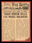 1965 A and BC England Civil War News #53   Train of Doom Back Thumbnail