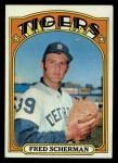 1972 Topps #6  Fred Scherman  Front Thumbnail