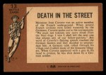 1966 A and BC England Battle #13   Death In The Street Back Thumbnail
