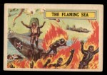 1966 A and BC England Battle #40   The Flaming Sea Front Thumbnail