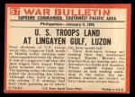 1965 Philadelphia War Bulletin #57   Wading Party Back Thumbnail