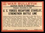 1965 Philadelphia War Bulletin #56   House to House Back Thumbnail