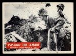 1965 Philadelphia War Bulletin #31   Passing the Ammo Front Thumbnail