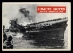 1965 Philadelphia War Bulletin #66   Floating Inferno Front Thumbnail
