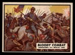 1962 Topps Civil War News #12   Bloody Combat Front Thumbnail
