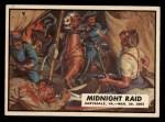 1962 Topps Civil War News #36   Midnight Raid Front Thumbnail