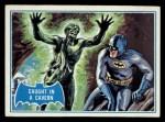 1966 Topps Batman Blue Bat Back #39 BLU  Caught in Cavern Front Thumbnail