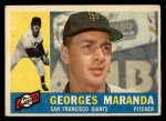 1960 Topps #479  Georges Maranda  Front Thumbnail
