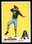 1969 Topps #241  Mike Taliaferro  Front Thumbnail