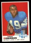 1969 Topps #145  Johnny Robinson  Front Thumbnail