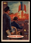 1957 Topps Space Cards #66   Heading Home  Front Thumbnail