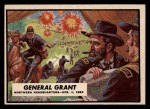 1962 Topps Civil War News #38   General Grant Front Thumbnail