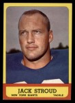 1963 Topps #53  Jack Stroud  Front Thumbnail