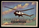 1952 Topps Wings #169   Bristol 170 MK-31 Front Thumbnail