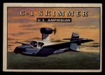 1952 Topps Wings #192   C-1 Skimmer Front Thumbnail