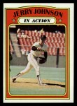 1972 Topps #36   -  Jerry Johnson In Action Front Thumbnail