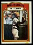 1972 Topps #40   -  Bob Barton In Action Front Thumbnail