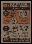 1972 Topps #54   -  Bud Harrelson In Action Back Thumbnail