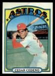 1972 Topps #65  Cesar Cedeno  Front Thumbnail