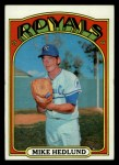 1972 Topps #81  Mike Hedlund  Front Thumbnail