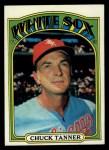 1972 Topps #98  Chuck Tanner  Front Thumbnail