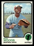 1973 Topps #531  Ron Woods  Front Thumbnail