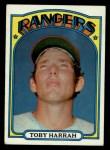 1972 Topps #104  Toby Harrah  Front Thumbnail