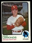 1973 Topps #534  Dave Lemonds  Front Thumbnail