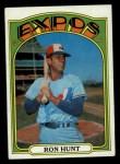 1972 Topps #110  Ron Hunt  Front Thumbnail