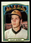 1972 Topps #173  Clay Kirby  Front Thumbnail