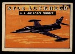 1952 Topps Wings #152   XF 90 Lockheed Front Thumbnail