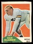 1960 Fleer #3  Dan McGrew  Front Thumbnail