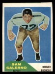 1960 Fleer #6  Sam Salerno  Front Thumbnail