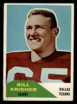 1960 Fleer #53  Bill Krisher  Front Thumbnail