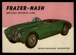 1954 Topps World on Wheels #123   Frazer-Nash Front Thumbnail