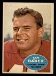 1960 Topps #24  Sam Baker  Front Thumbnail