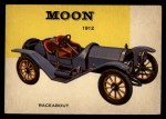 1954 Topps World on Wheels #108   Moon Raceabout 1912 Front Thumbnail