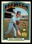 1972 Topps #281  Bill Parsons  Front Thumbnail