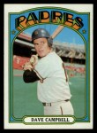 1972 Topps #384  Dave Campbell  Front Thumbnail