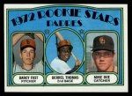 1972 Topps #457   -  Darcy Fast / Mike Ivie / Derrel Thomas Padres Rookies   Front Thumbnail