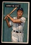 1951 Bowman #84  Barney McCosky  Front Thumbnail